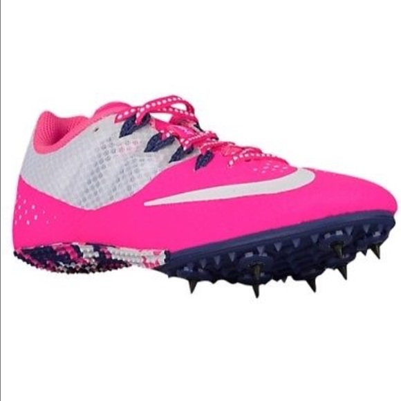a68c8defc79a8 Nike Zoom Rival S 8 Womens Sprint Spike Pink White